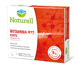 Witamina B12 Forte, Naturell