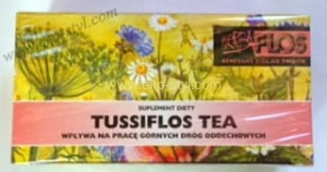 Herbaflos, Nr 8, Tussiflos Tea fix